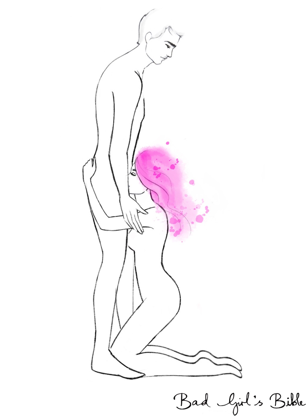 kneeling-blow-job-position