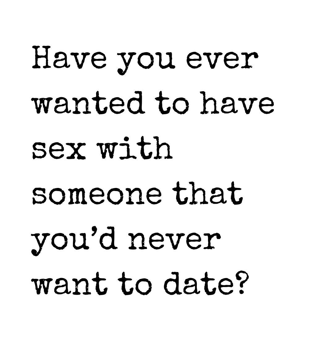 never date sex
