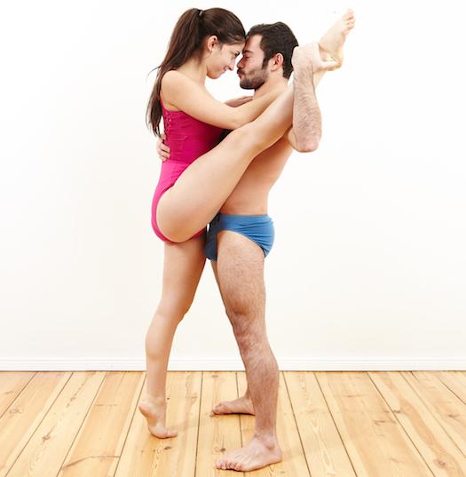 sex position, ballerina
