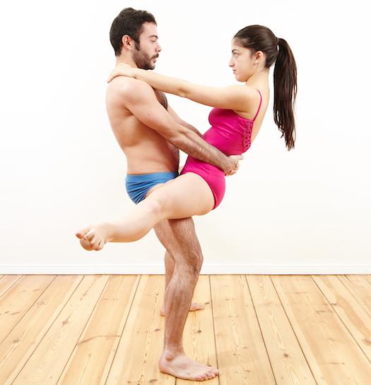 sex position, standing splitter
