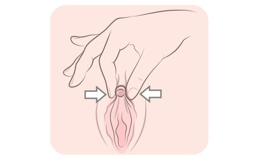 masturbation technique squeezing the clitoris