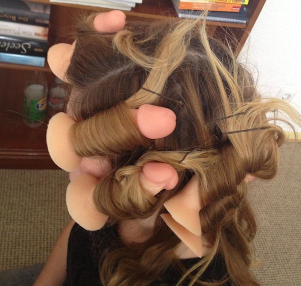 dildo-hair-curlers