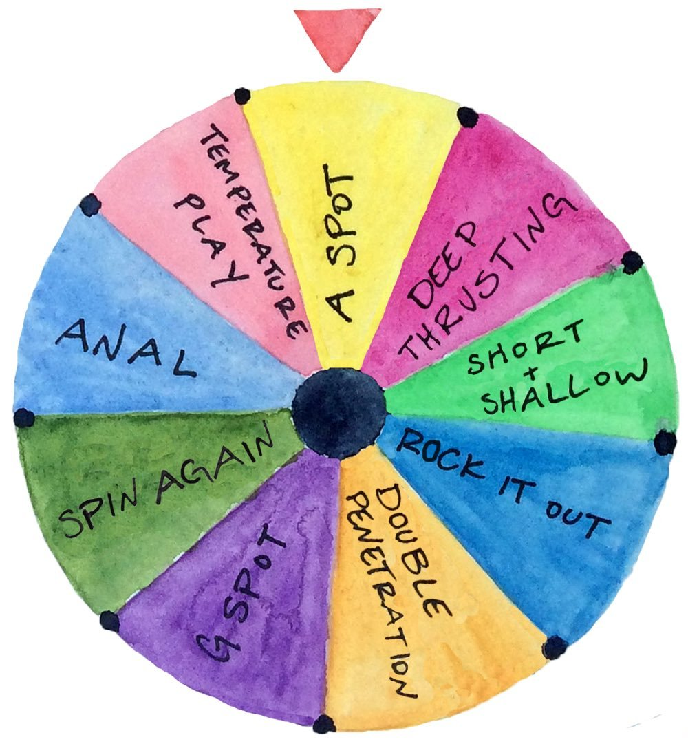 sexy-wheel-of-fortune-watercolor-illustration