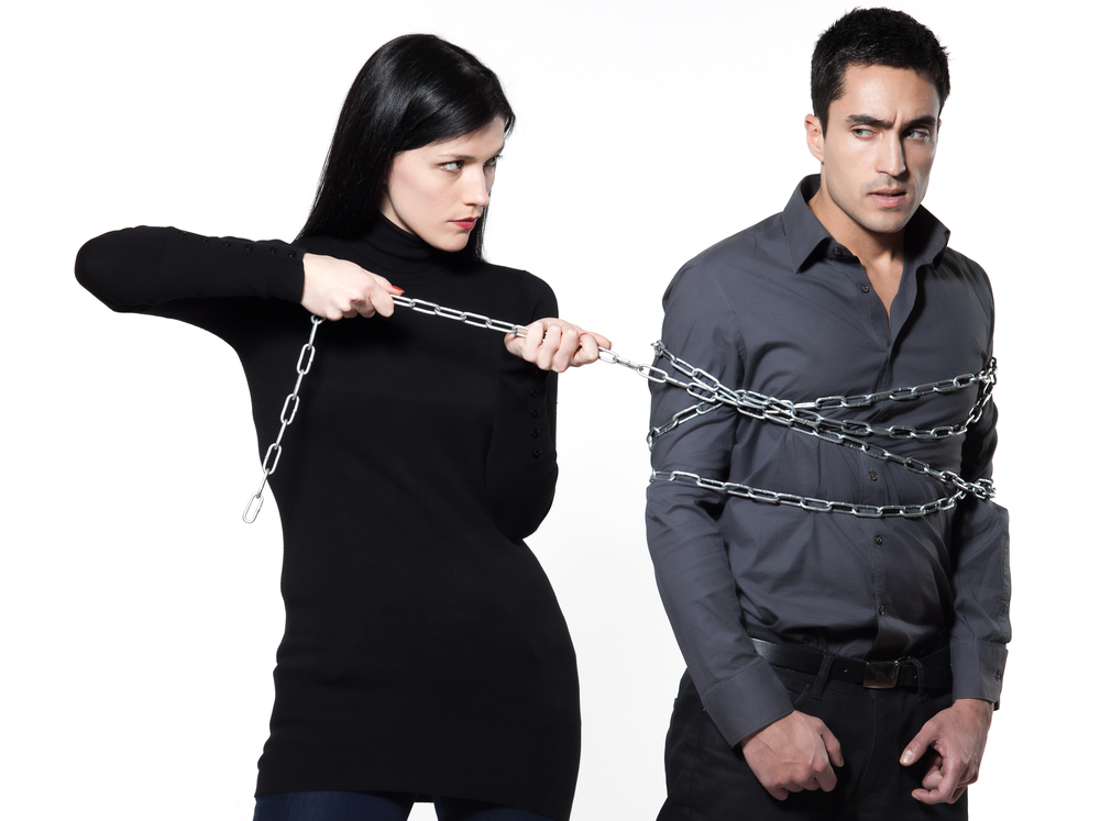 couple in chain