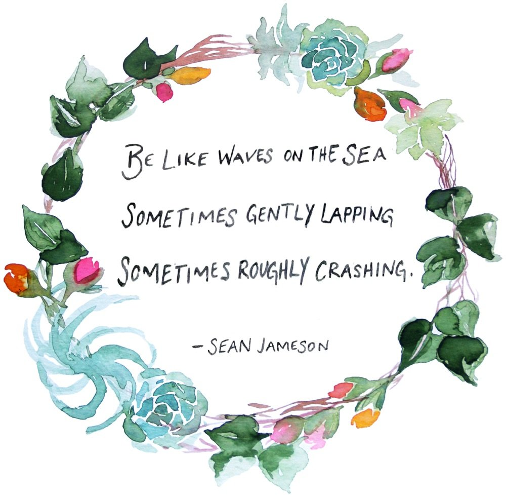 waves-in-the-sea-watercolor-quote-illustration