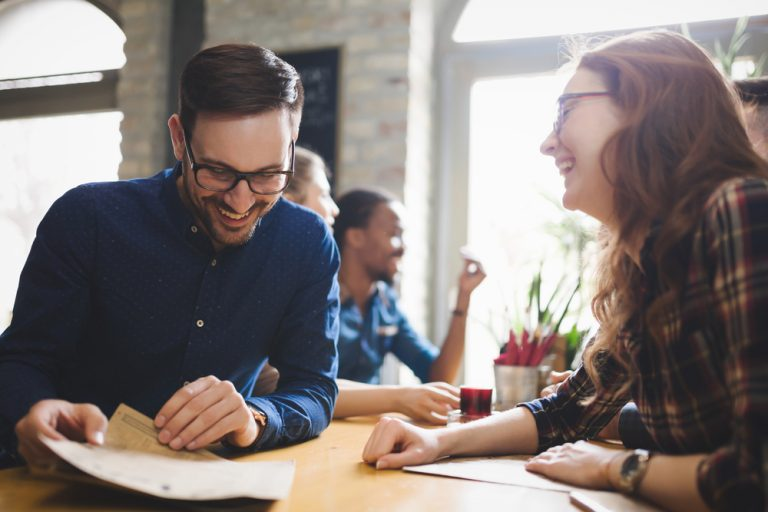 how to tell if a coworker likes you