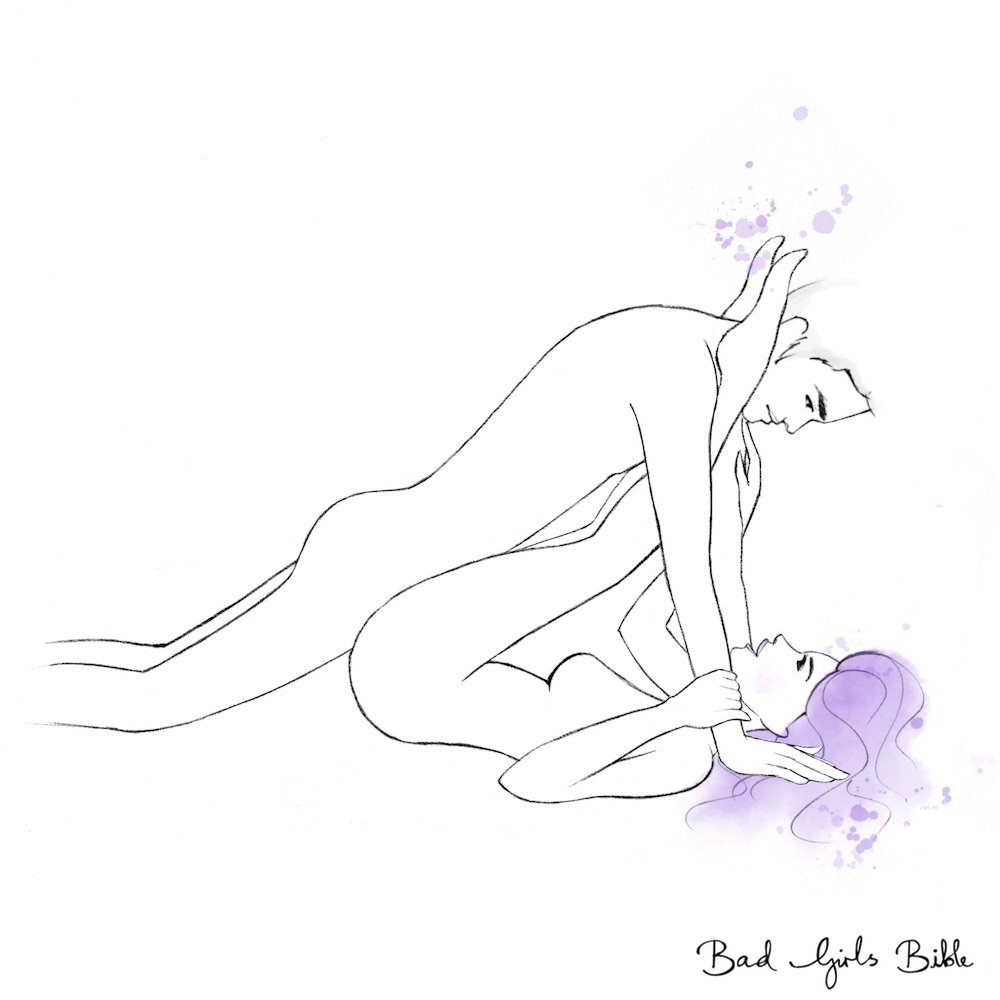 Anvil Sex Position Illustration