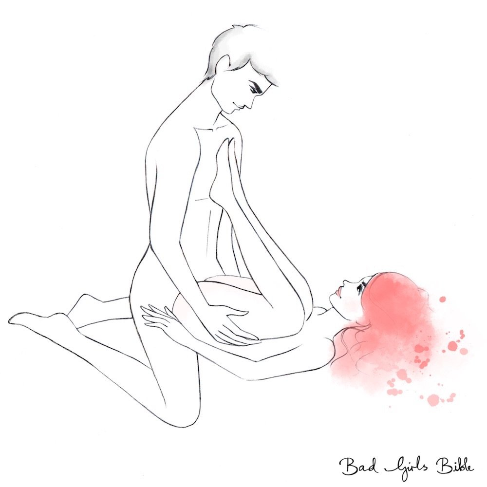 Illustraed sex positon