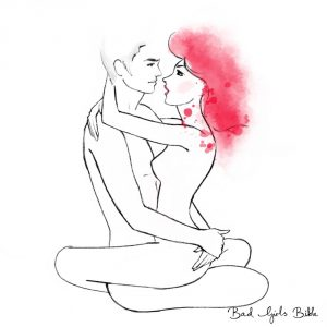 Lotus Sex Position Illustration
