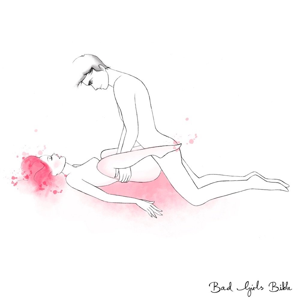 Sex position sandwich