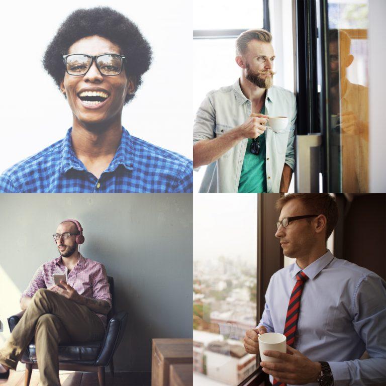 types of men