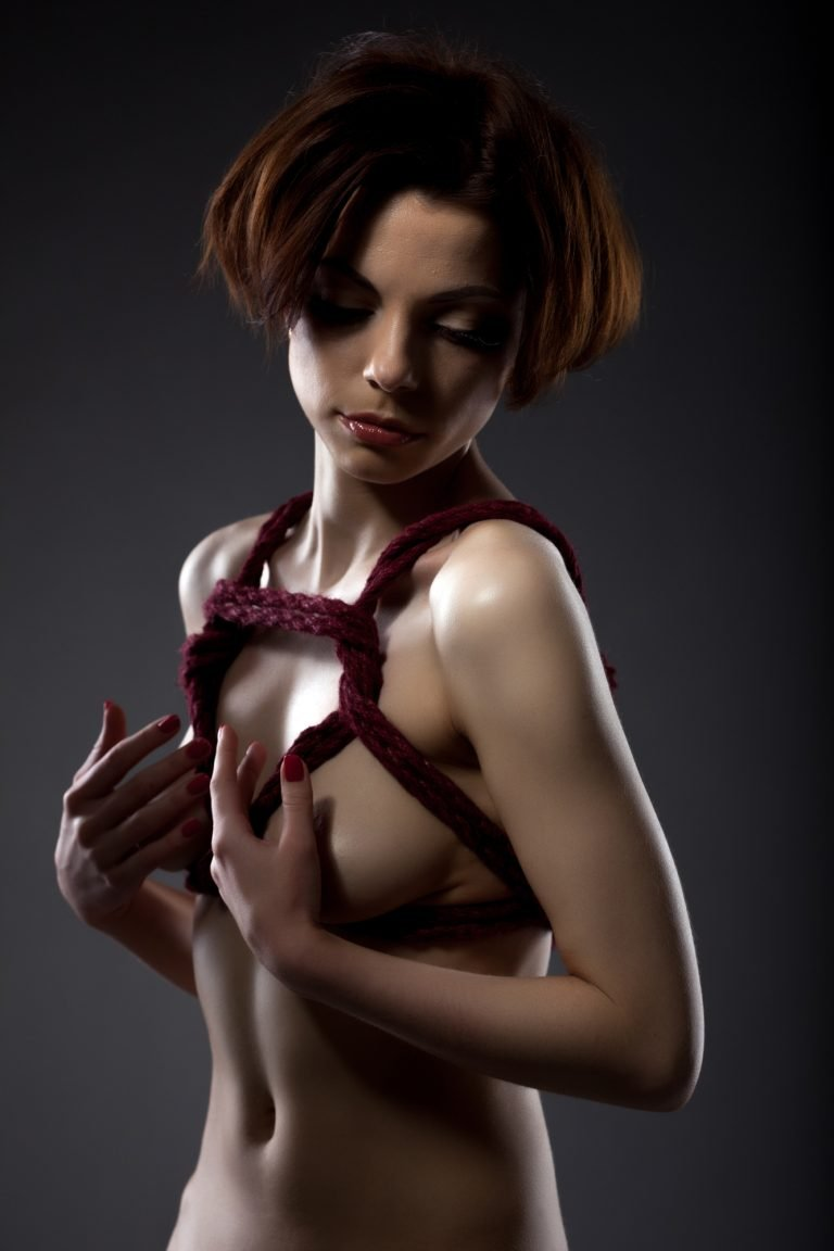 Japanese breast rope bondage